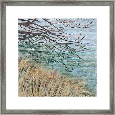 Reflections On Water Framed Print