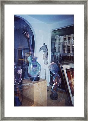 Reflections San Francisco Framed Print