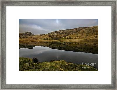 Reflective Blea Tarn Framed Print by John D Hare