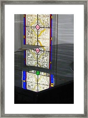 Reflective Mood Framed Print by Bruce Carpenter