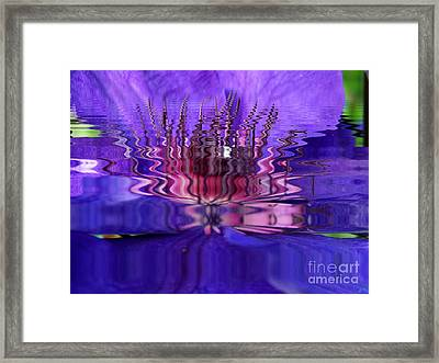 Reflets Framed Print