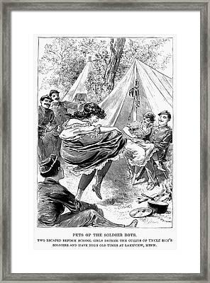 Reform School Girls, 1895 Framed Print by Granger