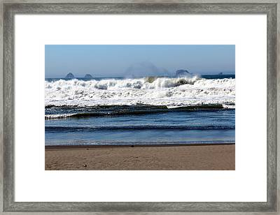 Framed Print featuring the photograph Refreshing by Jo Sheehan
