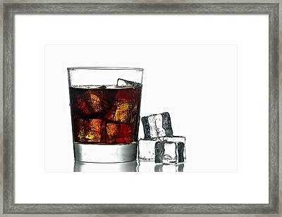 Refreshment Framed Print by Gert Lavsen