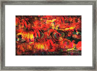 Regarding Tagging And Tracking Framed Print by Fania Simon