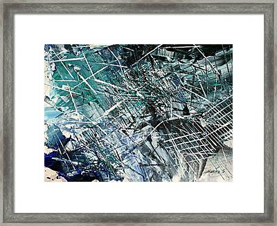 Framed Print featuring the painting Regency by Kathy Sheeran