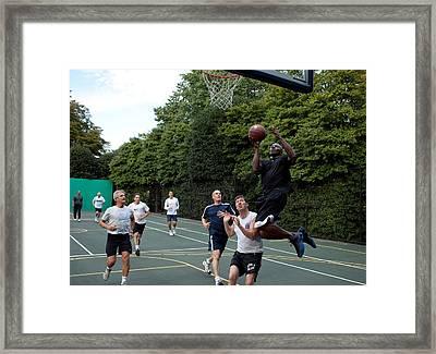 Reggie Love President Barack Obamas Framed Print by Everett