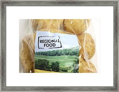 Regional Food Framed Print by Victor De Schwanberg