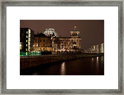Reichstag Landscape Framed Print by Mike Reid