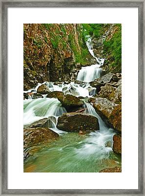 Reid Falls Framed Print
