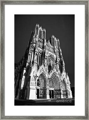 Reims Cathedral Framed Print