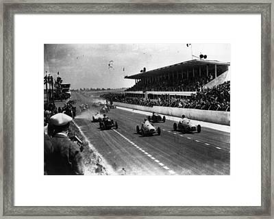 Reims Grand Prix Framed Print by Keystone
