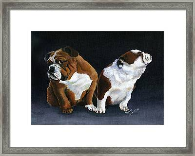 Rejection Framed Print by Suni Roveto