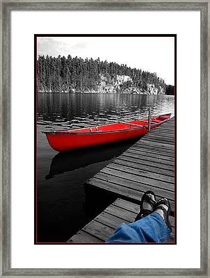 Framed Print featuring the photograph Relax by Brian Duram