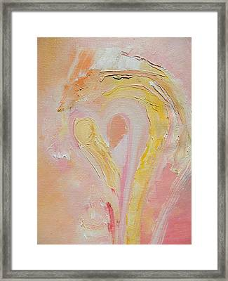 Release Love Pain Framed Print