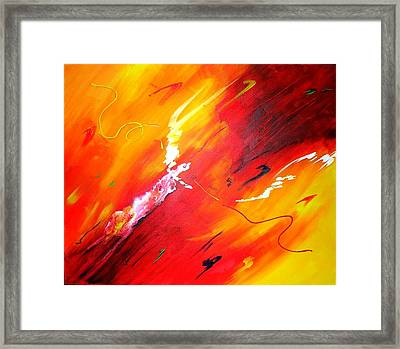 Release Framed Print by Mary Kay Holladay