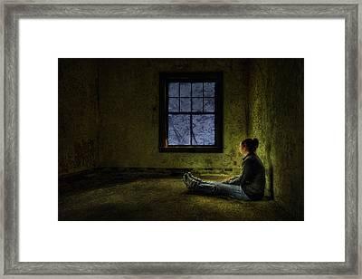 Release Me Framed Print by Evelina Kremsdorf