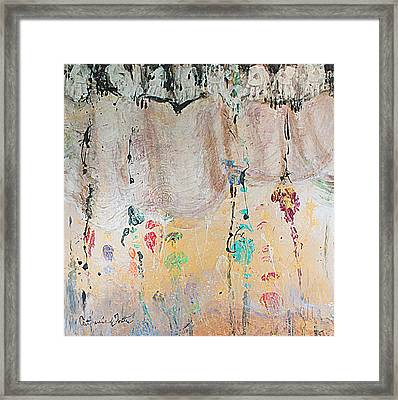 Releasing Inner Cords Framed Print by Catherine Foster