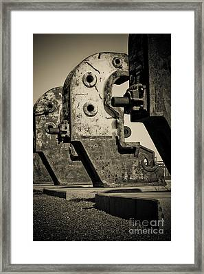 Relics Of A Bygone Era Framed Print by John Buxton