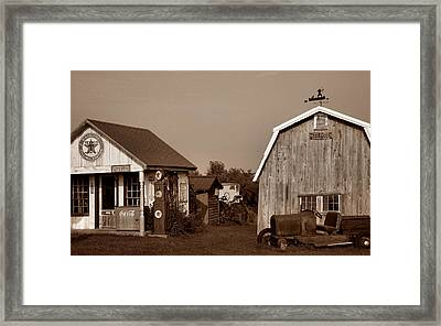 Relics Of The Past Iv Framed Print by Steven Ainsworth