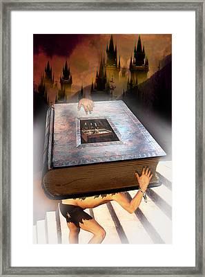 Religion Framed Print by E  Kraizberg
