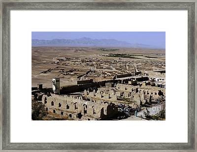 Remains Of Alexander The Greats Castle Framed Print