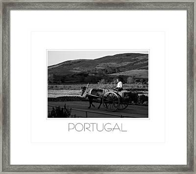Remains Of The Day Portugal Framed Print by J R Baldini M Photog Cr