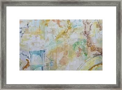 Remains Framed Print by Ulla Heckel