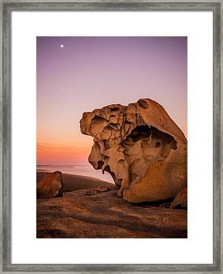 Remarkable Rocks Framed Print by Ryan  Carter