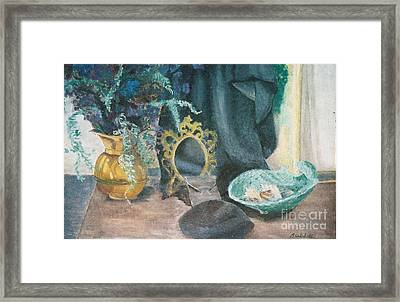 Remberance Framed Print by Delores Swanson