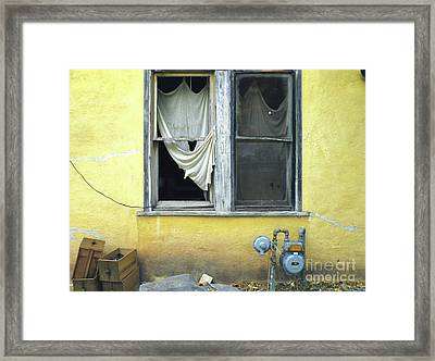Rembrandt Moved Framed Print