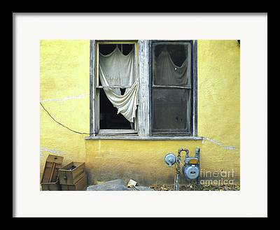 Ravaged By Time Framed Prints
