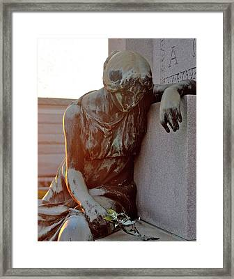 Framed Print featuring the photograph Remember Me by Cheri Randolph