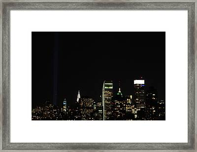 Remember September 11th Framed Print by Catie Canetti