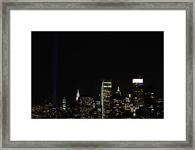 Remember September 11th Framed Print