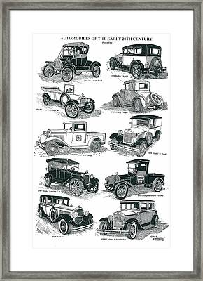 Remember The Days 1 Framed Print by Bill Friday