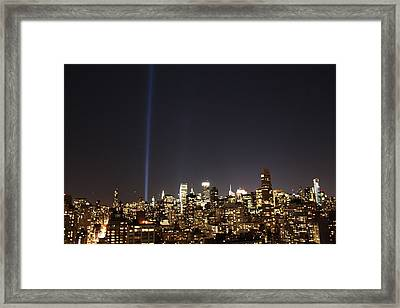 Remember The Heroes Framed Print by Catie Canetti