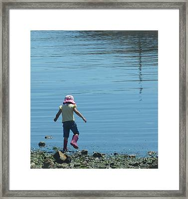 Remember When Framed Print by Ann Marie Chaffin