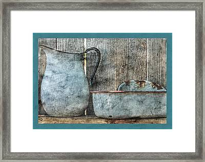 Remember When Framed Print by Bonnie Bruno
