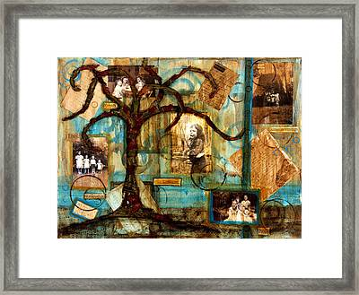 Remember When Framed Print by Heather Saulsbury