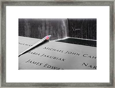 Remembering... Framed Print by Michael Braxenthaler