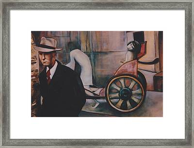 Framed Print featuring the painting Remembering My Father by Irena Mohr