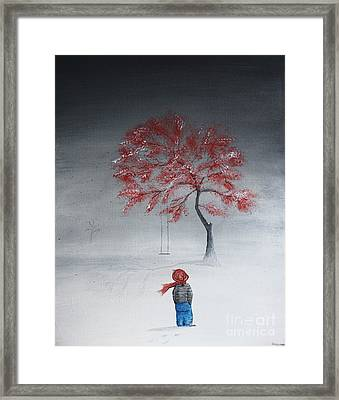 Remembering Summer Framed Print by Gray  Artus