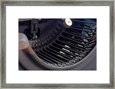 Framed Print featuring the photograph Remington 11 Detail by Kay Lovingood