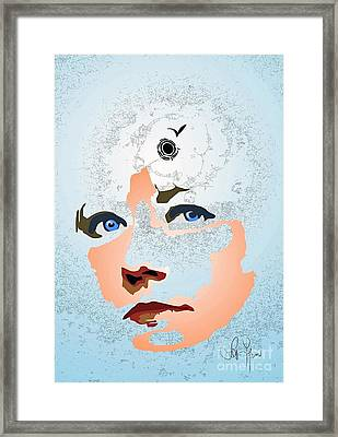 Framed Print featuring the digital art Reminiscences by Leo Symon