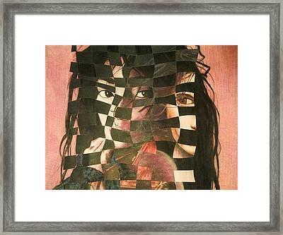 Remix Framed Print by Sheila Preston-Ford