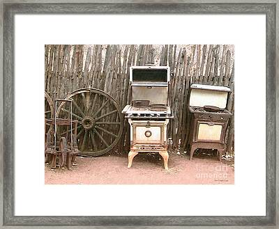 Remnants Framed Print by Cristophers Dream Artistry