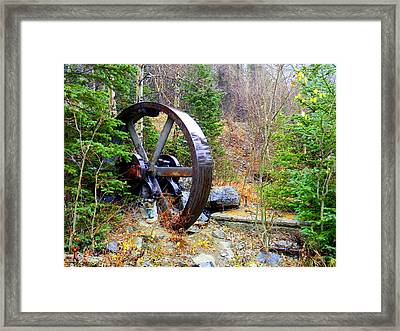 Remnants Of The Past Framed Print by Jessica Duede