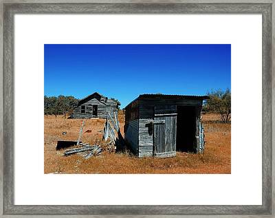 Framed Print featuring the photograph Remnants Of The Past by Renee Hardison