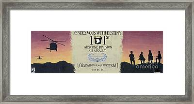 Rendezvous With Destiny Framed Print by Unknown